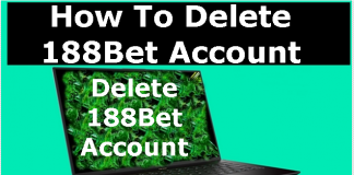 How To Delete, Cancel, Close or Deactivate 188Bet Account